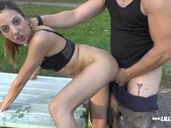 German Teen Anal Bang Public Oral-sex Brut